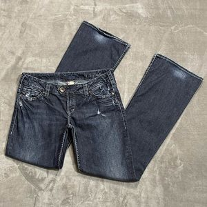 Silver Tuesday Dark Wash Bootcut Jeans!